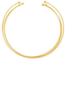 Vanessa Mooney The Dakota Choker in Gold