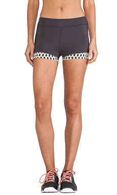 VPL Banded Boy Short in Charcoal
