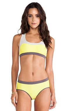 VPL Convexity Swim Top in Sunshot