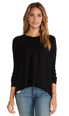 Vintageous Action Sweater in Black