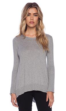 Vintageous Merrier Pullover in Heather Grey
