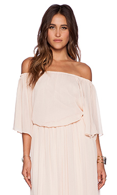 The Wallflower Festival Top in Peach