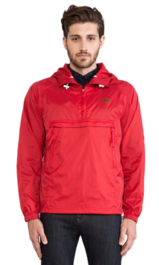 Weekend Offender Football and Festival Jacket in Red