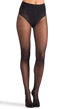 Wolford Tummy 20 Control Top Tights in Black