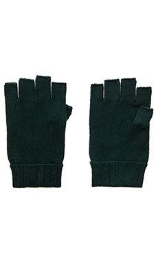 wings + horns Cut-Off Gloves in Evergreen
