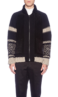 wings + horns Cowichan Sweater