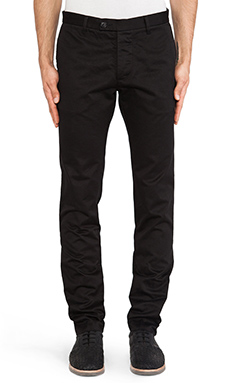 wings + horns Mid-town Chino Pant in Black