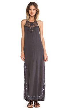 wildheart Shanti Maxi Dress in Grey