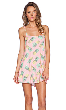 Wildfox Couture Bell's Pineapple Palace Beach Dress in Multi