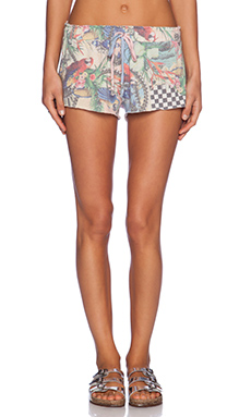 Wildfox Couture Crazy Town Short in Multi Colored