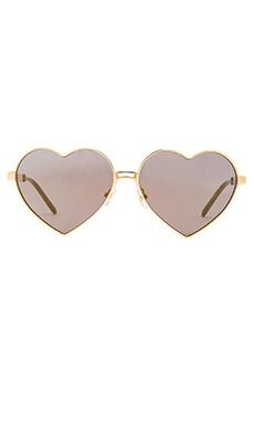 Wildfox Couture Lolita Sunglasses in Gold
