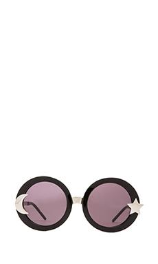 Wildfox Couture Luna Sunglasses in Black