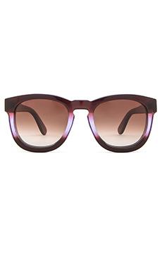 Wildfox Couture Classic Fox Sunglasses in Purple Ombre