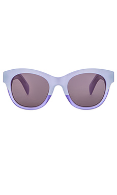 Wildfox Couture Monroe Sunglasses in Amethyst & Grey Solid
