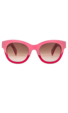 Wildfox Couture Monroe Sunglasses in Quartz & Brown Gradient