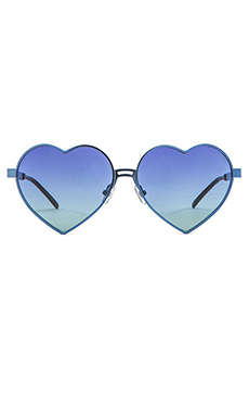 Wildfox Couture Lolita Sunglasses in Teal & Multi Gradient