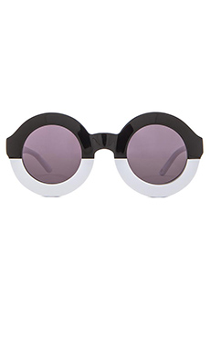 Wildfox Couture Twiggy Sunglasses in Factory Black