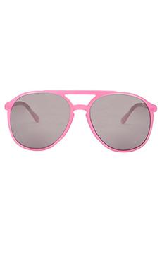 Wildfox Couture Skipper Sunglasses in Barbie Pink