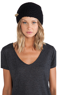 Wildfox Couture Beanie in Clean Black