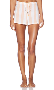 Wildfox Couture Sun Short in Hotel Stripe Multi