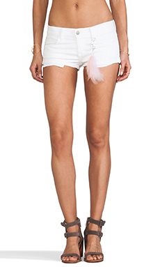 Wildfox Couture Willow Shorts in Feather