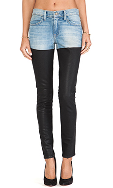 Wildfox Couture Marianne Mid-Rise Skinny in Poetry Contrast