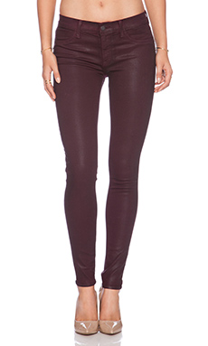 Wildfox Couture Marianne Mid-Rise Skinny in Bordeaux