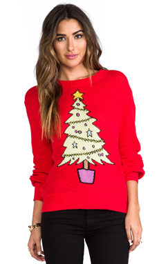 Wildfox Couture Baby Christmas Tree Sweater in Holiday
