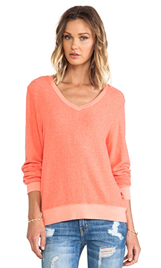 VARSITY BASIC V-NECK BAGGY BEACH JUMPER