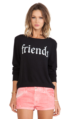 Wildfox Couture x REVOLVE Together Sweater in Jet Black