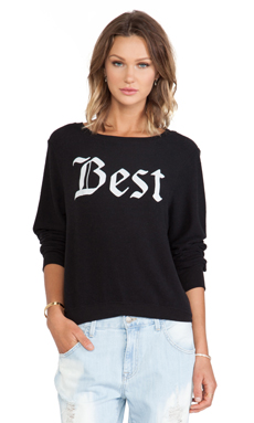 Wildfox Couture x REVOLVE Forever Sweater in Jet Black