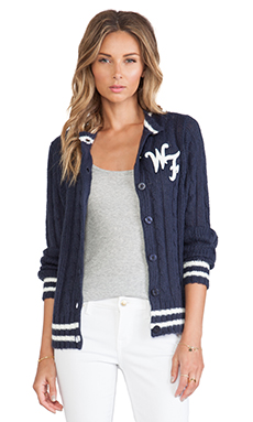 Wildfox Couture A True Star Cardigan in Oxford