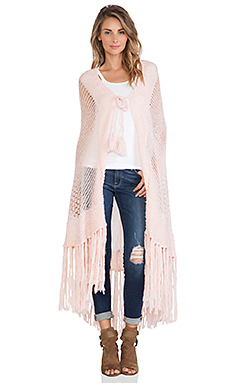 Wildfox Couture Garden Shawl in Rose Bud