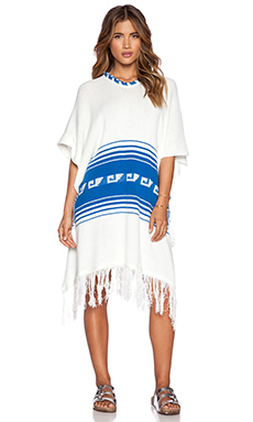 Wildfox Couture Frida Poncho in Vintage Lace