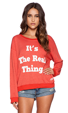 Wildfox Couture The Real Thing Pullover in India