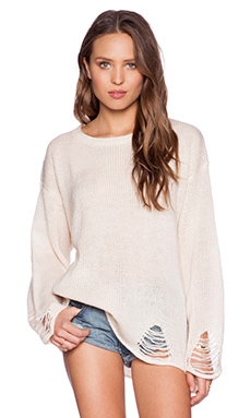 Wildfox Couture Lennon Sweater in Vintage Lace