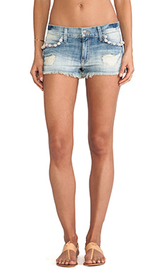 Wildfox Couture Lara Shorts w/ Pom Poms in Taboo
