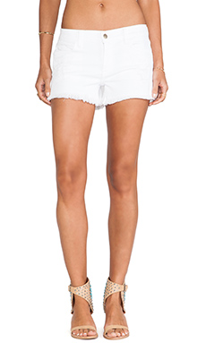 Wildfox Couture Ruby Denim Short in White Stand