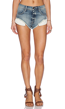 Wildfox Couture Beach Butt Short in Sea Salt