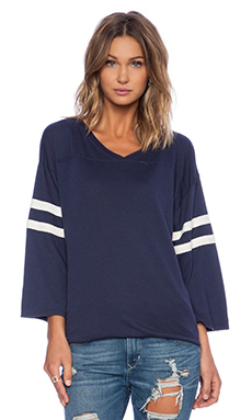 Wildfox Couture Foxercise Classic Logo Sweatshirt in Oxford