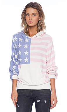 Wildfox Couture Miss America Hoodie in Multi