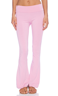 Wildfox Couture Foxercise Classic Logo Flare Legging in Dream House