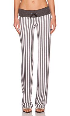 Wildfox Couture Fox Stripe Pant in Multi Colored