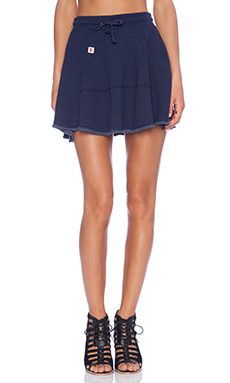 Wildfox Couture Foxercise Classic Logo Skirt in Oxford