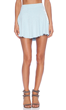 Wildfox Couture Vintage Sport Skirt in Honolulu Blue
