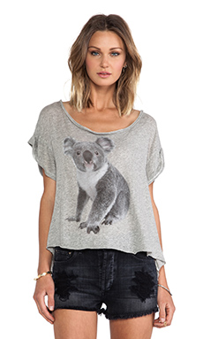 Wildfox Couture Koala Tee in Mochi