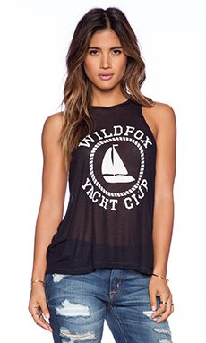 Wildfox Couture Sail On Island Tank. in Sailor