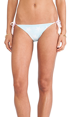 Wildfox Couture Reversible USA Flag Bikini Bottom in Multi