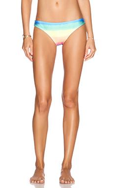 Wildfox Couture Pastel Tie Dye Bikini Bottom in Multi