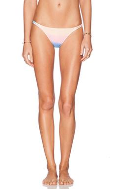 Wildfox Couture Split String Bikini Bottom in Rainbow